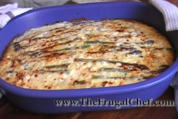 Asparagus Ricotta Frittata