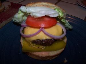 Best Grilled Hamburger Recipe