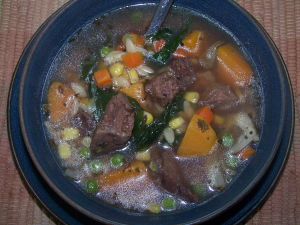 Recipe for Beef Soup – Beef Vegetable Soup