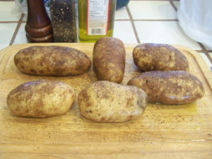 Potatoes for Baking in the Grill