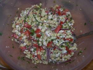 Corn, Cotija & Cilantro Salad