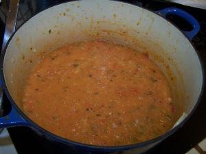 Blended Tomato Base.