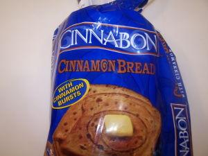 Cinnabon Bread Loaf.