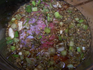 Tir-tip in Marinade.