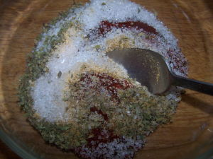 Chili Powder Rub