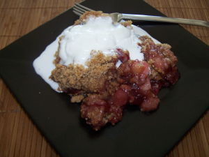 Cherry Crisp Recipes – Peach Cherry Crisp