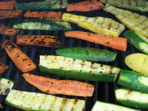 Recipe for Outdoor Grilled Vegetables