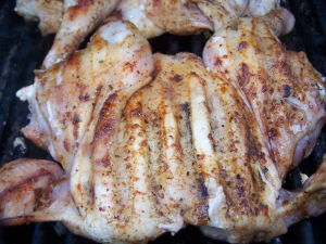 Grilled Cornish Hen