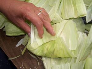 Folding the Husks