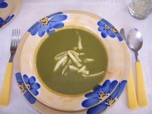 Cream of Chicken & Spinach Soup Recipe