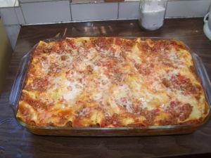Sausage & Meat Lasagna