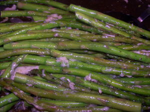 Tips for Cooking Asparagus – Skillet Asparagus with Parmesan Cheese