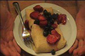 Crepes Fillings – Cheese Blintzes