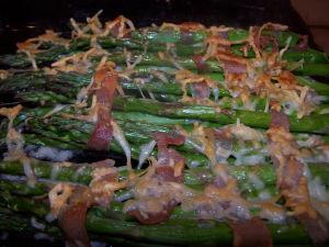 Baking Asparagus – Roasted Asparagus, Prosciutto & Parmesan