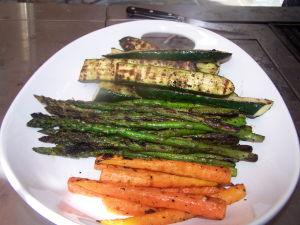 Grilled Veggies w/ Tarragon