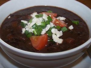Crock-Pot Soup - Cuban Black Bean Soup - The Frugal Chef