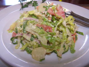 Easy Crab Recipes -Chopped Crab Salad
