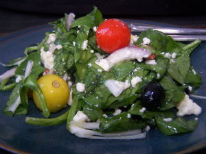 Spinach Salad Recipes – Spinach Blueberry Salad