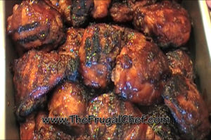 How to BBQ Chicken Thighs