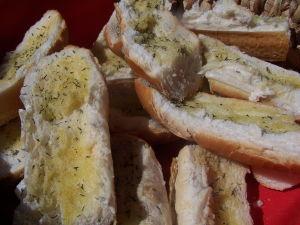 Easy Garlic Bread – Thyme Garlic Bread