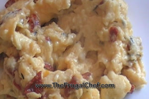 Breakfast Recipes Healthy – Scrambled Eggs w/ Sundried Tomatoes and Thyme