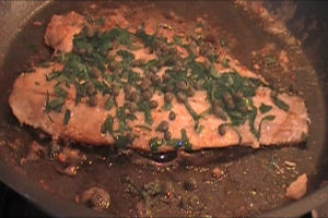 White Fish Recipes  – White Fish in Brown Butter with Capers