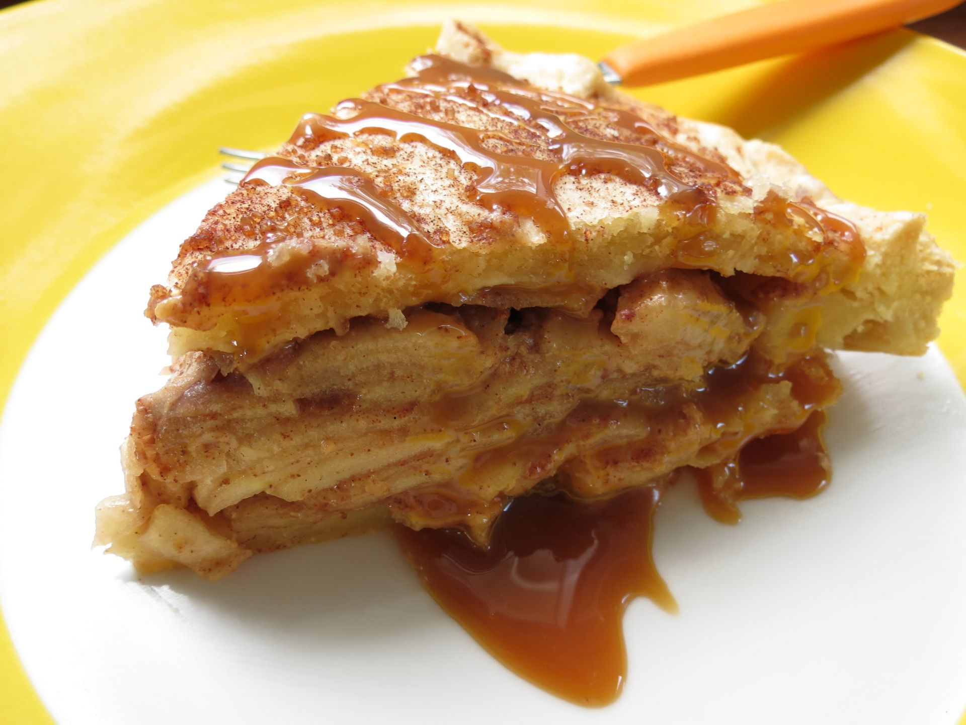 Salted Dulce de Leche Apple Pie Recipe - The Frugal Chef