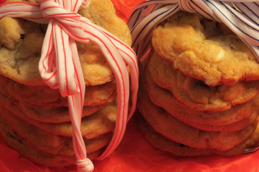Arica, Macadamia White Choc Cookies, Stuffed Cornish Hens, Quino 158