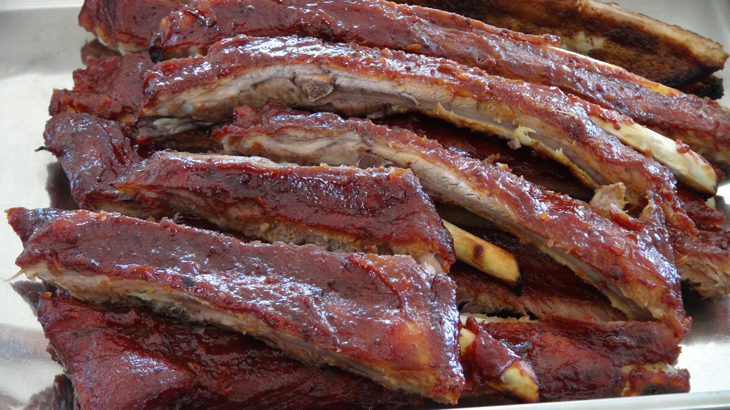 Ribs in the Oven with Barbecue Sauce - The Frugal Chef
