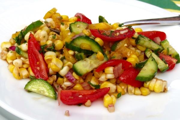 Balsamic Corn Salad 2