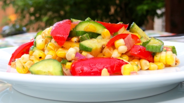 Balsamic Corn Salad