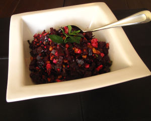 Recipes for Beets – Roasted Beet & Spiced Walnut Salad