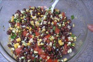 Black Bean Salsa with Corn  – Bean & Corn Salsa