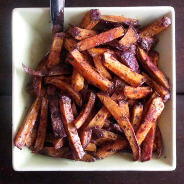 Cajun Style Sweet Potato Fries pg-180 (3)