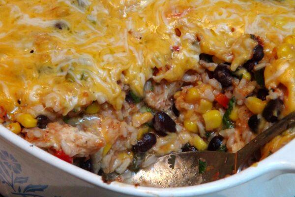 Chicken Rice Cassrole2