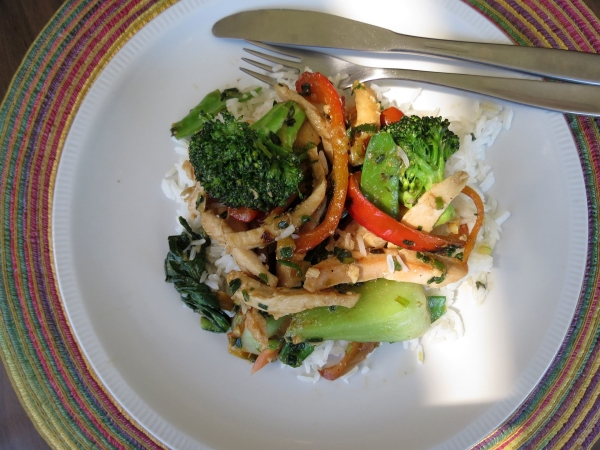 Chicken Veggie Stir Fry 2
