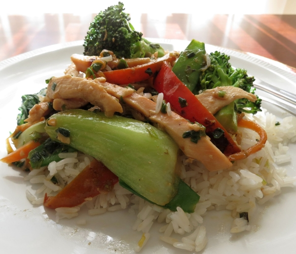 Chicken Veggie Stir Fry 4