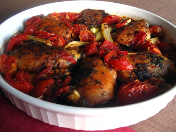 Chicken with Fennel and Tomatoes small