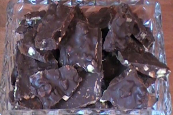 Chocolate Apricot Bark