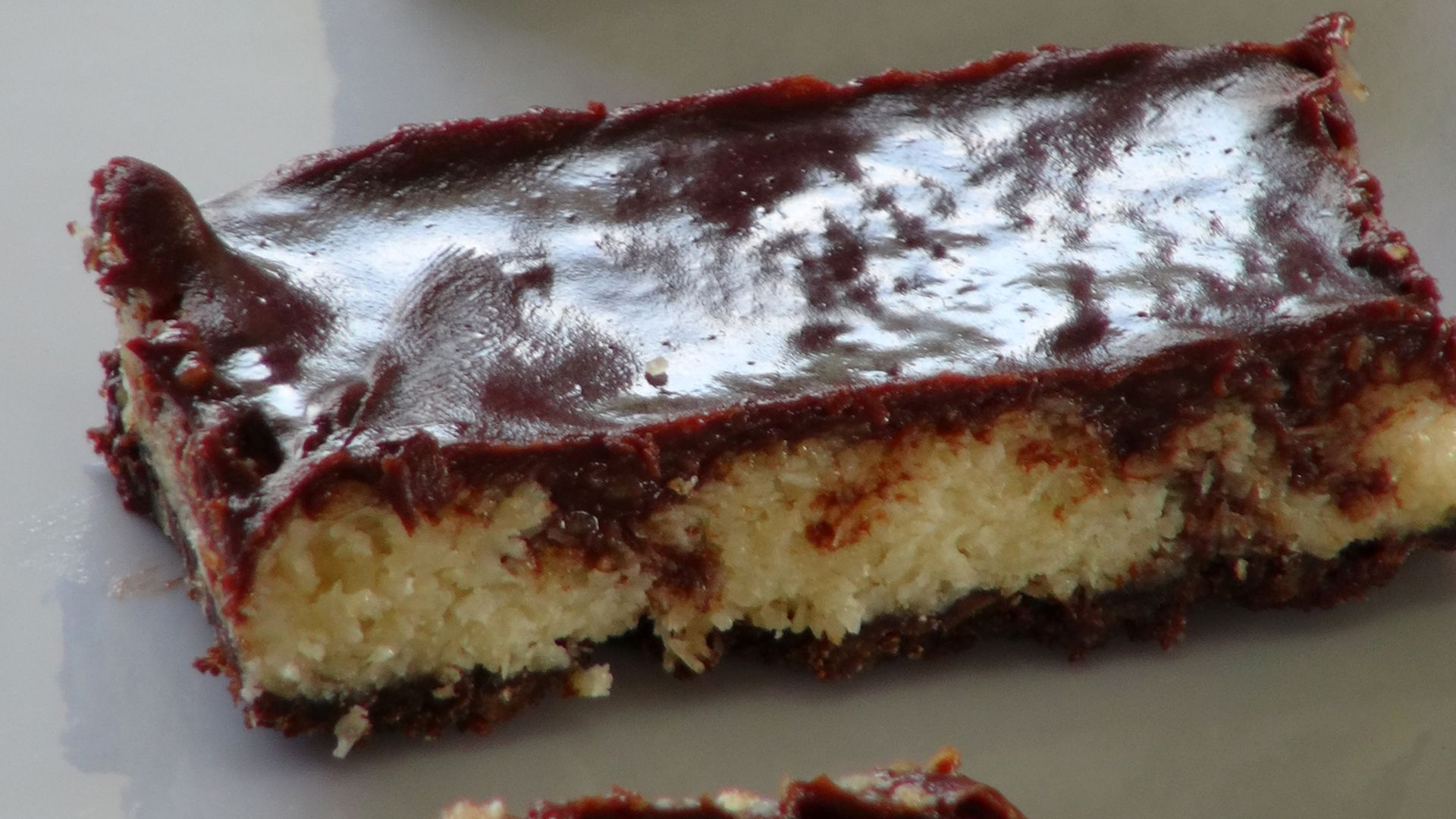 Chocolate Coconut Bars - The Frugal ChefThe Frugal Chef