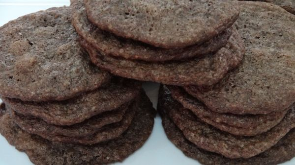 Chocolate Cookies with Chips