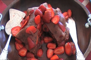 Easy Crepes Recipes – Strawberry Chocolate Crepe Stack