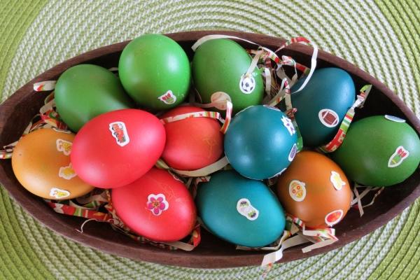 Como tenir huevos de pascua