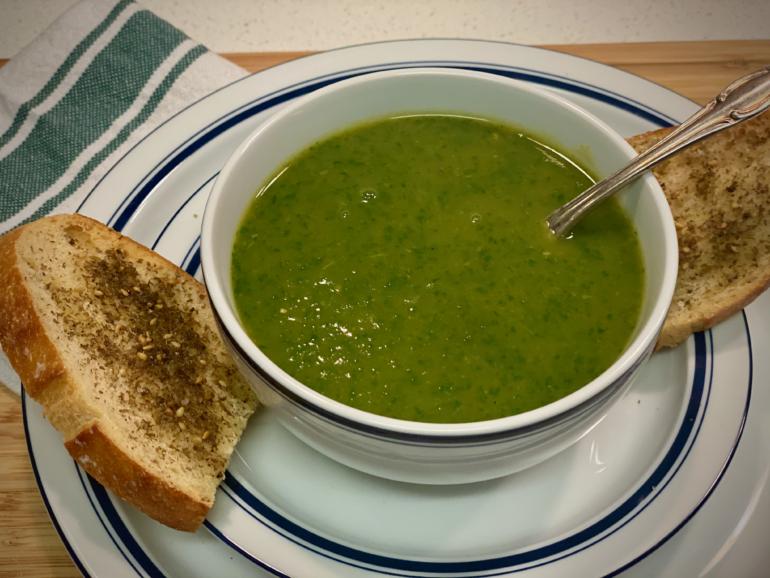 Creamy Vegan Vegetable Soup