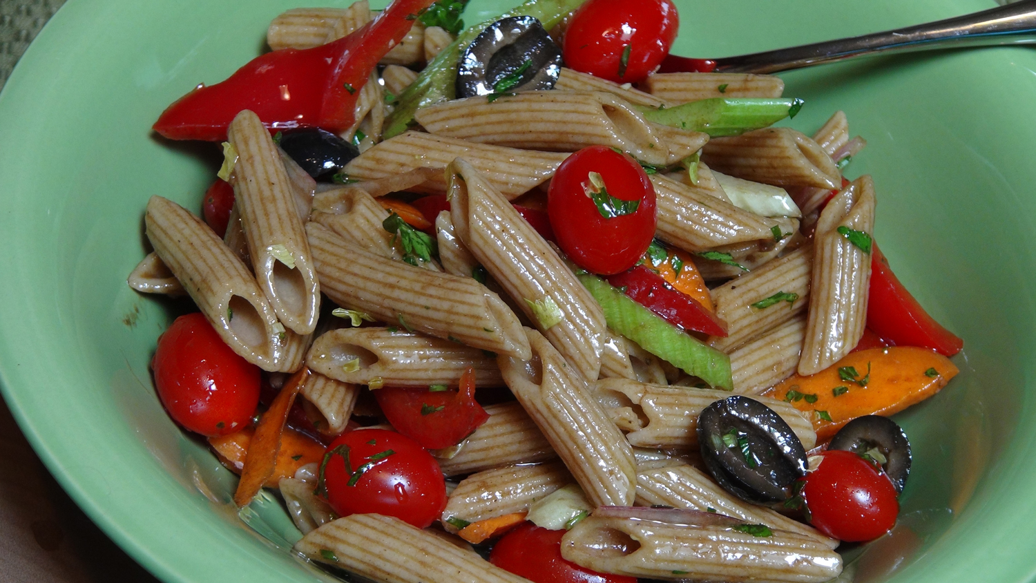 Pasta Salad Recipe with Balsamic Vinaigrette - The Frugal Chef