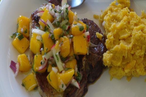 Curry Pork Chops