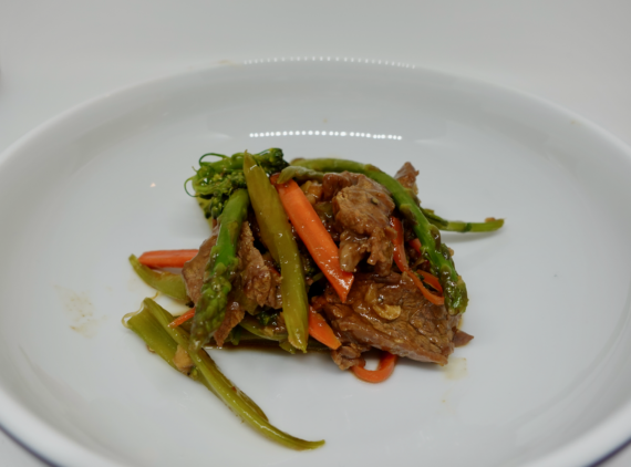 Beef Stir Fry with Asparagus