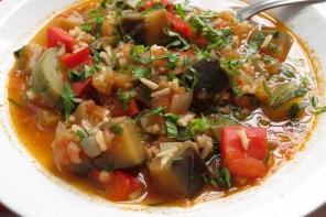 Sopa de Berenjena