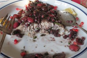 Fish with Grapes