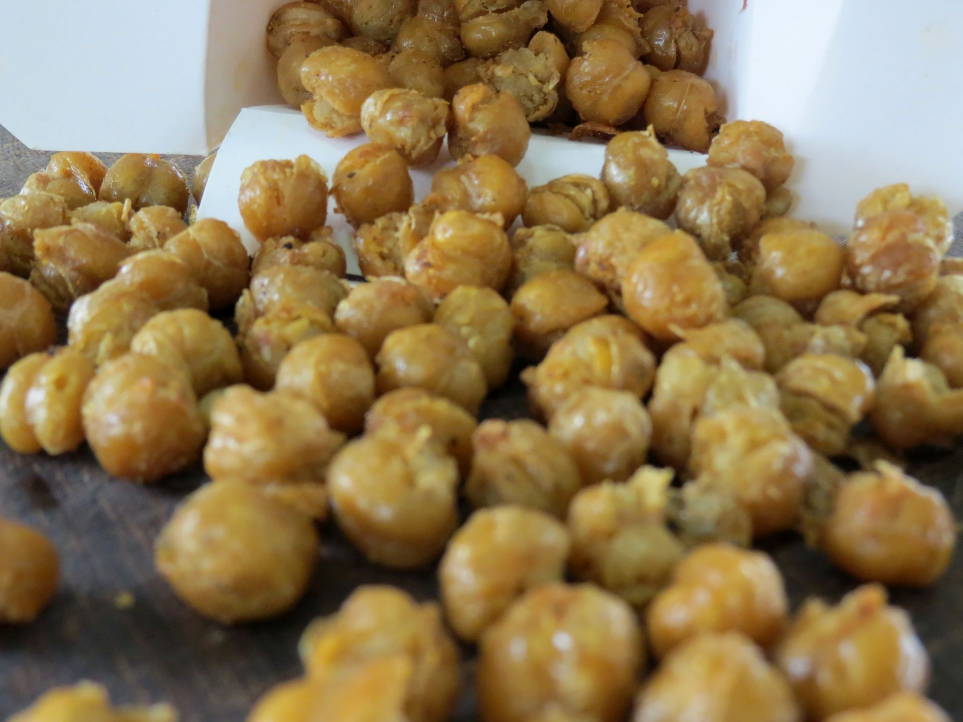 Fried Chickpeas - The Frugal Chef